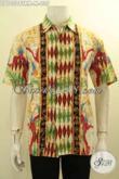 Model Baju Batik Kombinasi Untuk Pria, Pakaian Batik Keren Banget Untuk Kerja Dan Pesta, Bahan Halus Proses Tulis Remekan, Di Jual Online 235K [LD10508TRM-M]