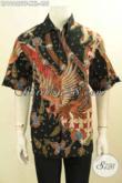 Pakaian Batik Keren Terbaru, Busana Batik Modis Masa Kini Ukuran Jumbo Exclusive Untuk Pria Gemuk Tampil Gagah Dan Gaya Daleman Full Furing [LD10622TF-XXL]