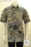 Hem Batik Pria Kantoran Lengan Pendek Motif Terkini, Baju Batik Halus Desian Keren Bahan Adem, Cocok Juga Buat Hangout [LD11185PB-L]