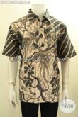Busana Batik Elegan Dan Berkelas, Produk Baju Batik Solo Masa Kini Kwalitas Istimewa Harga Terjangkau Motif Terkini Proses Printing Cabut, Cocok Buat Ngantor [LD11186PB-XL]