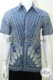 Baju Batik Laki-Laki Modern, Kerja Kantor Oke, Batik Santai Bisa [LD2012T-S]