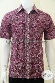 Baju Pria Batik Elegan Untuk Kerja Kantor [LD2118CA-L]