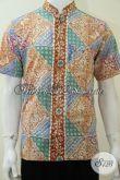 Baju Koko Batik Kerah Shanghai Ukuran S Dewasa [LD2233CK-S]
