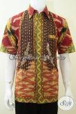 Baju Batik Tulis Pria Motif Naga Keren, Untuk Anak Muda Dan Yang Berjiwa Muda [LD2277T-L]