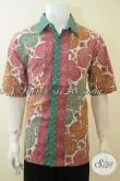 Tempat Belanja Pakaian Batik pria Online Aman Dan Terpercaya, Sedia Kemeja Batik Trendy Kwalitas Halus Harga Terjangkau Motif Selalu Update [LD3670CT-XL]