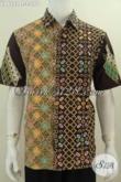 Hem Batik Modis Motif Kombinasi, Produk Baju Batik Fashion Khas Jawa Tengah Yang Modis Untuk Santai Dan Formal, Berbahan Halus Batik Cap Tulis Harga Grosir Hanya 170K [LD6122CT-L]