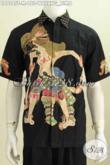 Pakaian Batik Masa Kini Kwalitas Bagus Proses Tulis, Baju Batik Wayang Motif Bima Tampil Macho Dan Elegan [LD7545T-M]