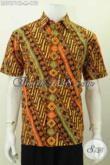 Hem Batik Klasik Terbaru, Baju Batik Modern Istimewa Desain Trendy Bahan Halus Proses Cap Tulis Harga 170K [LD7671CT-M]