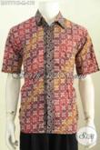 Pusat Baju Batik Solo Terkini, Jual Kemeja Batik Kwalitas Bagus Dengan Harga Terjangkau Desain Paling Di Cari [LD7771CT-M]