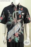 Pakaian Batik Pria Ukuran XL, Hem Batik Lelaki Dewasa Motif Bagus Proses Tulis Untuk Santai Dan Formal Hanya 155K [LD7827T-XL]