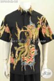 Baju Batik Solo Untuk Lelaki Dewasa, Pakaian Batik Size XL Proses Tulis Motif Trendy Tampil Lebih Bergaya [LD7964T-XL]