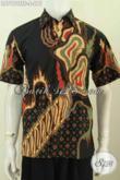 Hem Batik Istimewa Kwalitas Premium, Baju Batik Full Furing Lengan Pendek Proses Tulis Soga HArga 275 Ribu [LD7990TSF-S]