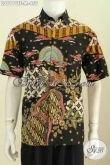 Online Shop Baju Batik Online, Sedia Hem Lengan Pendek Premium Motif Terkini Proses Tulis Model Lengan Pendek Pakai Furing Lebih Berkelas [LD8101TF-M]