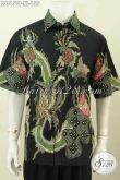 Produk Pakaian Batik Pria Dewasa, Hadir Dengan Motif Bagus Warna ELegan Model Lengan Pendek Proses Tulis Hanya 155K [LD8151T-XL]
