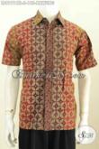 Model Baju Batik Pria Kombinasi Cap dan Tulis Terbaru