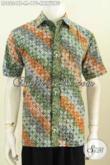 Koleksi Terbaru Baju Batik Solo Berkelas Motif Kawung, Hem Batik Cap Tulis Nan Istimewa Buat Pria Terlihat Lebih Mempesona [LD8234CT-M]