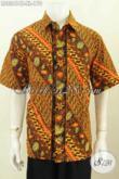 Aneka Busana Batik Modern Halus Lengan Pendek Motif Unik Trendy Berkelas Proses Cap Tulis Di Jual Online 170K [LD8241CT-XL]