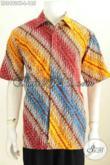 Galeri Baju Batik Pria Online, Sedia Kemeja Lengan Pendek Halus Motif Bagus Banget Proses Cap Tulis, Cocok Buat Hangout [LD8492CT-L]