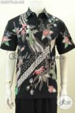 Pusat Busana Batik Solo, Sedia Baju Batik Cowok Keren Model Lengan Pendek Motif Terkini Proses Tulis Harga 155K [LD8577T-M]