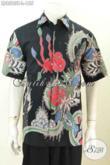 Jual Baju Batik Modern Untuk Pria Dengan Desain Terbaru Yang Lebih Mewah, Baju Batik Tulis Solo Motif Keren Harga 155K [LD8583T-L]