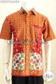 Batik Hem Pria Kwalitas Premium Proses Cap Tulis, Baju Batik Terbaru Pria 2020 Cocok Untuk Kerja Dan Santai Harga 200K [LD8697CT-M]
