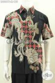 Baju Batik Murah Untuk Pria Muda, Kemeja Lengan Pendek Proses Tulis Bahan Halus Motif Keren Tampil Menawan [LD8861T-M]