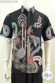 Koleksi Terbaru Toko Batik Online, Sedia Baju Batik Pria Gaul, Hem Batik Halus Proses Tulis Lengan Pendek Harga 155K [LD8866T-M]