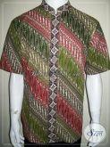 Kemeja Batik Koko Terbaru Dijual Online, Kerah Shanghai Lebaran 2013 [LD897CTK-L]