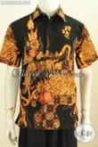 Hem Batik Modis, Baju Batik Tulis Premium Non Furing Harga 210K, Model Lengan Pendek Penampilan Lebih Gagah [LD9286T-S]