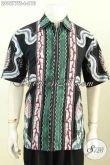 Batik Hem Kombinasi Motif Keren Dan Elegan, Pakaian Batik Pria Masa Kini Proses Tulis Soga, Pilihan Tepat Untuk Penampilan Berkelas [LD9577TS-L]