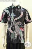 Hem Batik Jawa Terkini, Pakaian Batik Kerja Motif Burung Proses Tulis, Di Jual Online 155K [LD9588T-M]