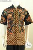 Kemeja Batik Kerja Premium, Pakaian Batik Istimewa Yang Bikin Pria Tampil Gagah Berkelas, Proses Tulis Soga Motif Terkini Daleman Full Furing Harga 490K [LD9645TSF-L]