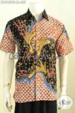 Fashion Baju Batik Pria Terkini, Pakaian Batik Modis Berkelas Motif Mewah Proses Tulis, Kemeja Batik Kerja Pria Muda Yang Ingin Tampil Gaya Dan Premium [LD9653TF-M]