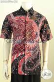 Hem Lengan Pendek Terkini, Pakaian Batik Fashion Untuk Pria Karir Yang Ingin Tampil Gagah Dan Gaya, Motif Bagus Proses Tulis Lengan Pendek Pake Furing 455K [LD9664TF-L]