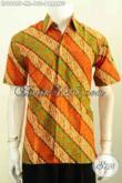 Kemeja Batik Lengan Pendek Klasik Bahan Halus Nyaman Di Pakai, Hem Batik Printing Berkelas Hanya 100K [LD9868P-L]