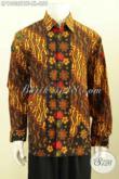 Baju Hem Batik Terkini, Kemeja Batik Klasik Halus Lengan Panjang Full Furing Yang Cocok Buat Rapat Dan Kondangan 200 Ribuan Saja [LP10035BTF-XL]
