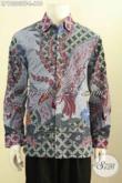Model Baju Batik Premium Khas Jawa Tengah, Hadir Dengan Motif Klasik Berkelas Daleman Full Furing Proses Tulis Tangan Asli, Di Jual Online 610K [LP10203TF-L]