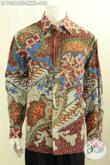 Model Baju Batik Untuk Pria Gemuk Sekali, Kemeja Batik 4L Khas Jawa Tengah Desain Mewah Full Furing Motif Klasik Tulis, Di Jual Online 610 Ribu [LP10216TF-XXXL]