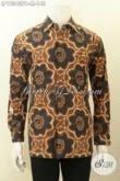 Model Baju Batik Solo Lengan Panjang Halus Motif Klasik, Pakaian Batik Istimewa Yang Membuat Lelaki Terlihat Ganteng Dan Gagah Hanya 100 Ribuan [LP10342PB-M]