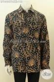 Model Baju Batik Spesial Untuk Lelaki Gemuk, Baju Baitk Jumbo Lengan Panjang 3L Kwalitas Istimewa Hanya 148K [LP10404PB-XXL]