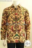 Aneka Busana Batik Elegan Lengan Panjang, Busana Batik Solo Halus Motif Mewah Bahan Adem Cocok Buat Acara Resmi [LP10462P-M]