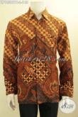 Baju Batik He Model Terbaru, Kemeja Batik Printing Cabut Nan Elegan Bahan Adem Lengan Panjang, Cocok Untuk Rapat Maupun Kondangan Hanya 148K [LP10587PB-L]