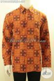 Pusat Baju Batik Pria Online Terlengkap, Jual Kemeja Lengan Panjang Kwalitas Premium Proses Cap Tulis Daleman Full Furing Motif Bagus Harga 390K [LP10646CTRFMH-L]