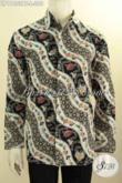 Baju Batik Kemeja Pria Muda Dan Dewasa Lengan Panjang ELegan, Busana Batik Hem Elegan Bahan Adem Motif Berkelas Proses Kombinasi Tulis Hanya 200K [LP11053BT-L]