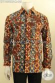 Produk Pakaian Batik Solo Premium Lengan Panjang, Hadir Dengan Motif Mewah Berkelas Full Furing Proses Tulis Warna Alam, Penampilan Istimewa Bak Eksekutif [LP11350TAF-M]