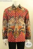 Busana Batik Tulis Premium Model Lengan Panjang, Pakaian Batik Mewah Berkelas Daleman Full Furing, Bisa Untuk Kondangan Dan Seragam Kerja Eksekutif [LP11362TF-M]