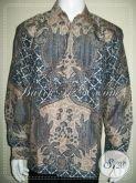 Kemeja Batik Mewah Dan Mahal, Batik Sutra Modern Untuk Pejabat Dan Pengusaha Sukses [LP1245SUWF-XL]