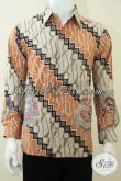 Baju Batik Tulis Pria High Class Mahal Berkelas Motif Parang [LP1833TP-M]