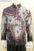 Hem Batik Mewah Halus Lengan Panjang, Pakaian Batik Premium Full Furing Motif Bagus Tulis Tangan Di Jual Online Harga 575K [LP6460TF-M]