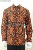 Juragan Busana Batik Online, Sedia Pakaian Batik Premium Harga 500 Ribuan, Hadir Dengan Motif Klasik Elegan Proses Tulis Tangan Model Lengan Panjang Full Furing Size L [LP6792TF-L]